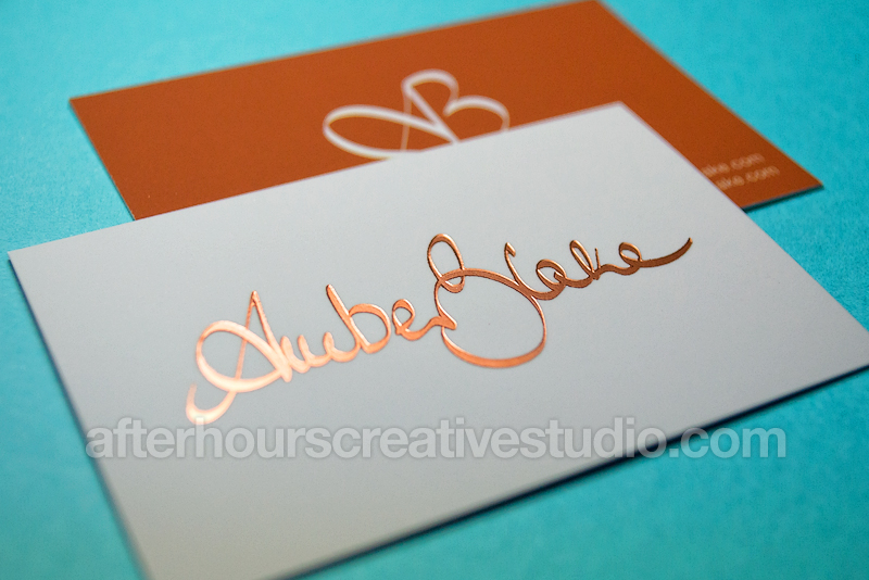 Cheap gold foil business cards posts by hourscreative bloglovin reheart Images